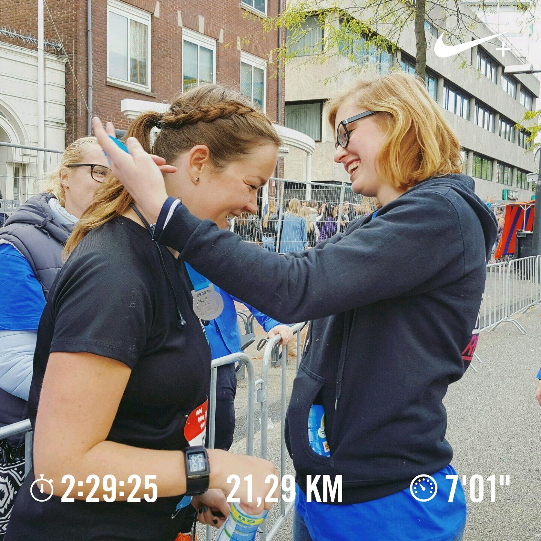 2016 naar 2017 halve marathon